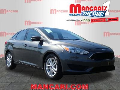 2017 Ford Focus SE (black)