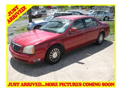 2003 Cadillac DeVille DHS (Maroon)