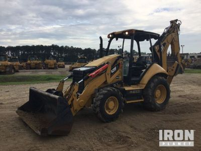 2014 Cat 420FIT 4x4 Backhoe Loader