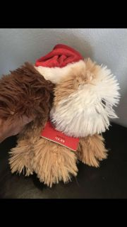 Silly plush wild animated puppy NEW