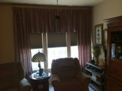 drapes window treatment size 108 across good condition