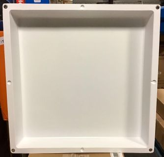 """ELIMA-DRAFT MAGNETIC SOLID VENT COVER FOR HVAC COMMERCIAL VENTS 24"""" X 24"""""""