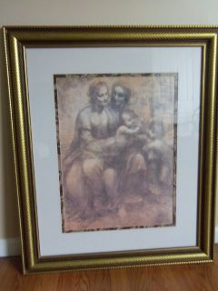 31x37 Gold framed picture