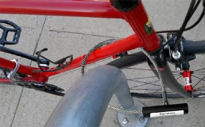 Bicycle Locks - Custom Designed Stainless Steel Locking System
