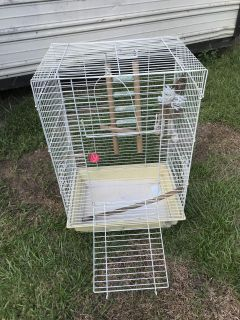 Bird Cage GUC 24X16X12 Cage Only!! The items in it you can have.