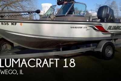 2009 Alumacraft Navigator 175 Sport
