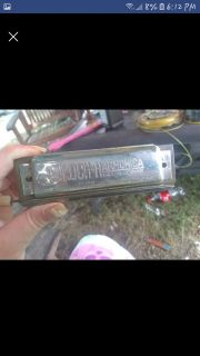 Antique harmonica