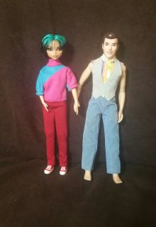 "Vintage Barbie""Cleo""/""Prince Charming""Ken Dolls & Accessories."