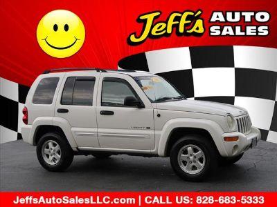 2002 Jeep Liberty Limited (White)