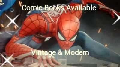 Vintage And Modern Comic Books Available