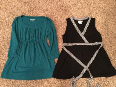 Motherhood Maternity tops, size medium