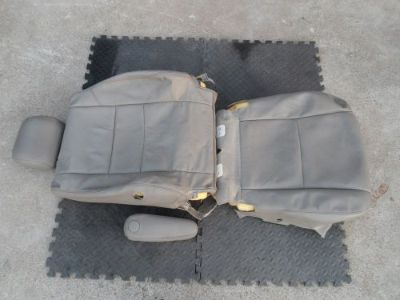 Find 2007-2012 Toyota Tundra Driver LH Grey Leather Seat Cover & Headrest OEM motorcycle in Red Bluff, California, United States, for US $190.00