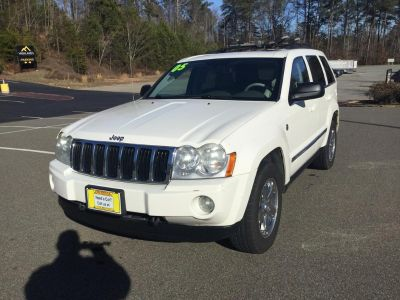 2005 Jeep Grand Cherokee Limited (White)