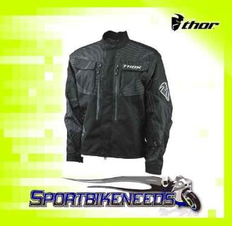 Find Thor 2012 Phase Jacket Black Motocross Size X-Large XL motorcycle in Elkhart, Indiana, US, for US $119.95
