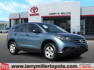 2014 Honda CR-V LX (Twilight Blue Metallic)