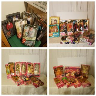 Huge lot: vintage Barbie, I love Lucy, Effanbee, Porcelain, a Charlie McCarthy ventriloquist doll, Raggedy Ann dolls, other