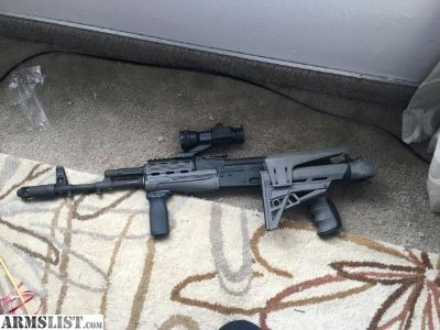For Sale: AK-74 with ATI stock, Tapco trigger, Vortex red dot optic, and three mags