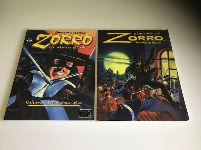 Two Johnston McCulley's Zorro Paperback Books The Masters Edition