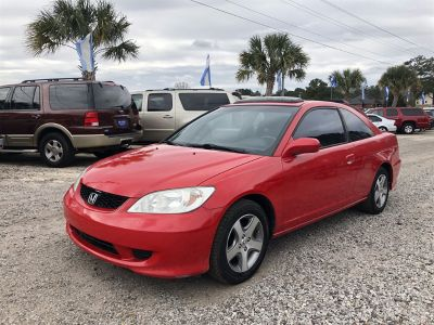 2004 Honda Civic EX (Red)