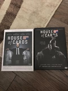 House of Cards season 1 and 2