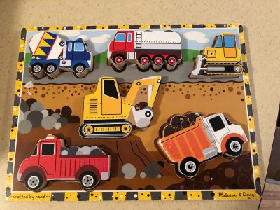 Construction puzzle by Melissa and Doug