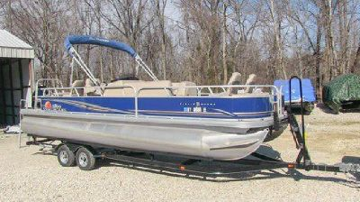 2014 Sun Tracker Fishing Barge 24DLX pontoon boat, Louisville KY