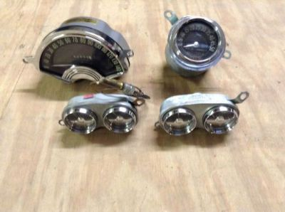 Sell CORVETTE 1954 GAUGES motorcycle in Spring, Texas, United States, for US $2,300.00