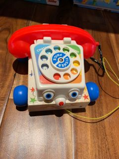 Fisher price vintage toy phone