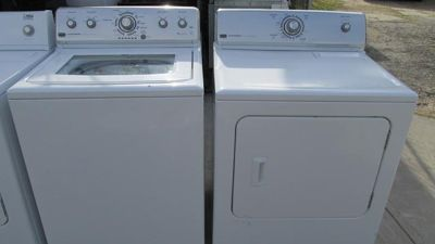 $390, maytag electric set washer and dryer