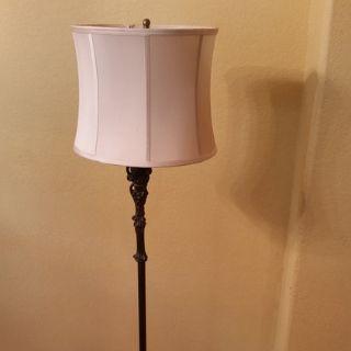 Art-Nouveau-Style Floor Lamp