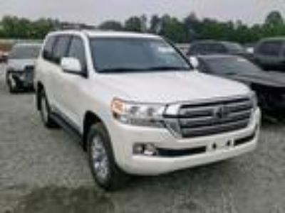 Salvage 2016 TOYOTA LAND CRUISER for Sale