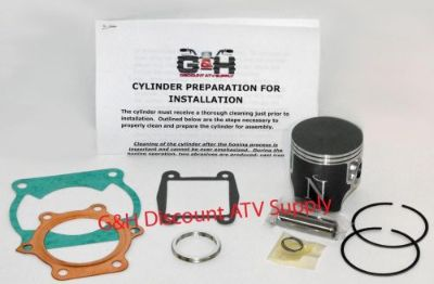 Purchase Yamaha YFS 200 Blaster Top End Rebuild Kit Cylinder Machining Service YFS200 ATV motorcycle in Somerville, Tennessee, United States, for US $154.95