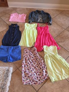 Big girls or small teen pre teen clothes all name brand