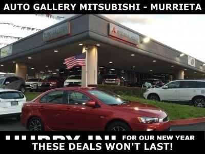 2017 Mitsubishi Lancer ES (Red)
