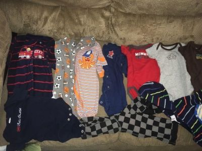 Excellent condition newborn and 0-3 month clothing