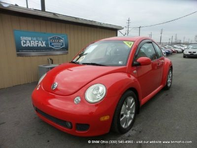 2002 Volkswagen New Beetle 2dr Cpe Turbo S Manual
