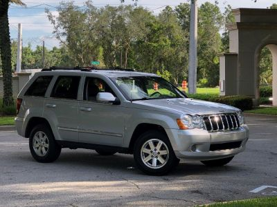 2009 Jeep Grand Cherokee Limited (Silver)