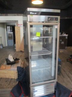"2018 Turbo Air 27"" Glass Door Refrigerator RTR# 8103136-10"