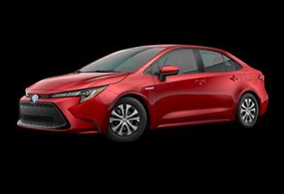 2020 Toyota Corolla Hybrid LE (Barcelona Red Metallic)
