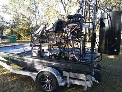 Airboat 2018 Jimmy White 14x8