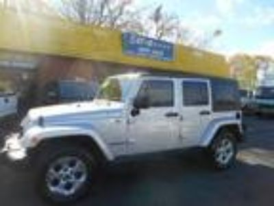 $17783.00 2009 Jeep Wrangler Unlimited Sahara with 87559 miles!