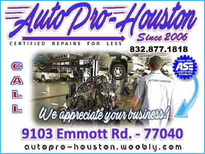 Computerized Diagnosis | Guaranteed Repairs at AutoPRO-Houston in Jersey Village TX