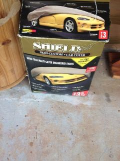 Shield Gold semi custom car cover