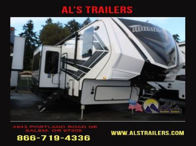 New 2018 Grand Design Momentum M-Class 398M-Travel Trailer