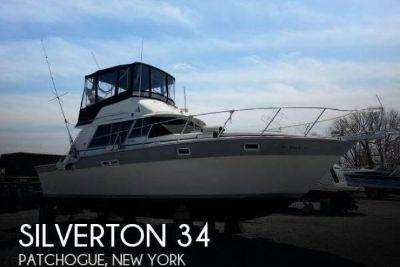 1985 Silverton Convertible Sport Fisherman 34