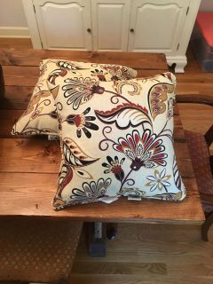 Patio Furniture Throw Pillows (Set of 2). G town PPU. Cross Posted.