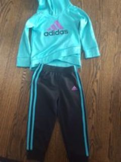 3T Adidas track suit