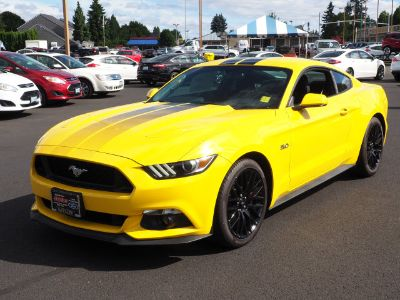 2017 Ford Mustang GT (Triple Yellow Tri-Coat)