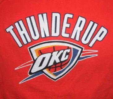 $5 Oklahoma City Thunder t-shirts
