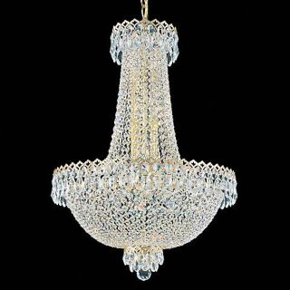 Schonbek Camelot 21 Light Crystal Chandelier (Model 5954G)